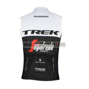 2016 Team TREK Segafredo Biking Sleeveless Vest Tank Top White Black
