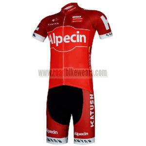 2017 Team Alpecin KATUSHA Biking Clothing Cycle Jersey and Padded Shorts  Roupas Bicicleta Red 8970a8d83