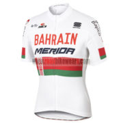 2017 Team BAHRAIN MERIDA Cycling Jersey Maillot Shirt White