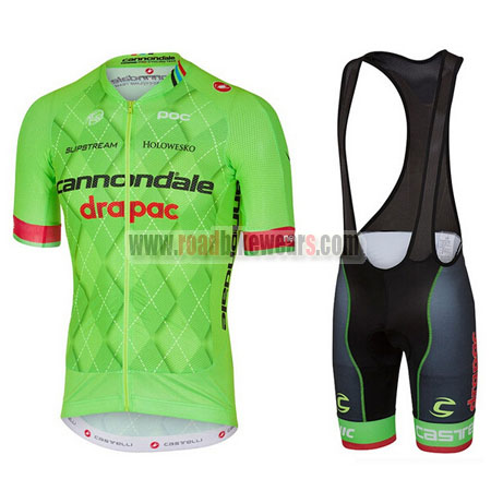3875b9415 2017 Team Cannondale drapac Riding Wear Cycle Jersey and Padded Bib ...