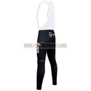 2017 Team SKY Castelli Riding Long Bib Pants Tights Black