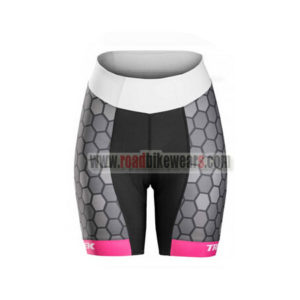2017 Team TREK Womens Lady Biking Shorts Bottoms Black Pink