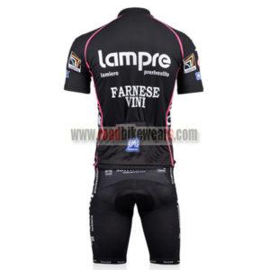 2011 Team Lampre FARNESE VINI Biking Kit Black Pink