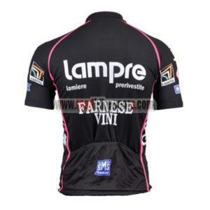 2011 Team Lampre FARNESE VINI Riding Jersey Maillot Shirt Black Pink