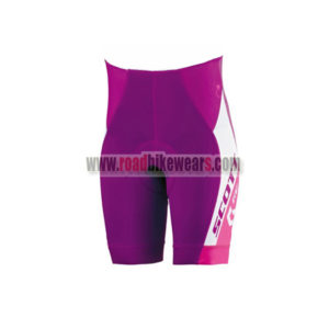 2015 Team SCOTT Women's Lady Cycle Shorts Bottoms Purple White