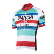 2016 Team BIANCHI 1885 MILANO Cycling Jersey Maillot Shirt Blue White Red