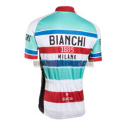 2016 Team BIANCHI 1885 MILANO Racing Jersey Maillot Shirt Blue White Red