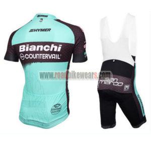 2016 Team BIANCHI Cycle Bib Kit Blue Black