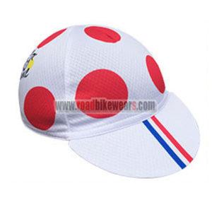 2016 Team Tour de France Bicycle Cap Hat Polka Dot