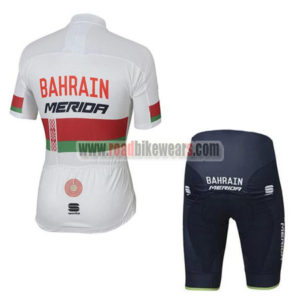 2017 Team BAHRAIN MERIDA Bike Kit White