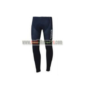 2017 Team BAHRAIN MERIDA Cycling Long Pants Tights Blue