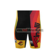 2017 Team Cinelli CHROME Cycling Shorts Bottoms Black Yellow Red