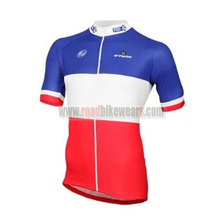 2017 Team FDJ Cycle Apparel Biking Jersey Top Shirt Maillot Cycliste ... 9134d874f