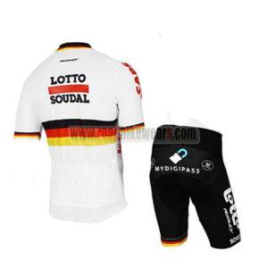 2017 Team LOTTO SOUDAL Germany Bike Kit White
