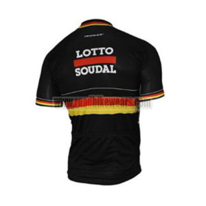 2017 Team LOTTO SOUDAL Germany Biking Jersey Maillot Shirt Black2017 Team LOTTO SOUDAL Germany Biking Jersey Maillot Shirt Black