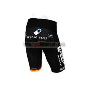 2017 Team LOTTO SOUDAL Germany Biking Shorts Bottoms Black