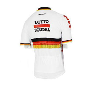 2017 Team LOTTO SOUDAL Germany Racing Jersey Maillot Shirt White