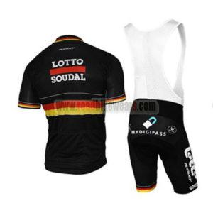 2017 Team LOTTO SOUDAL Germany Riding Bib Kit Black