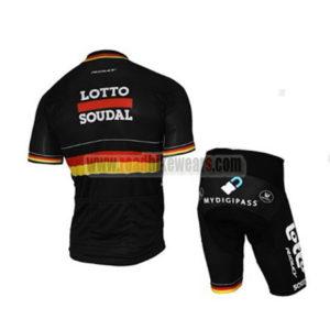 2017 Team LOTTO SOUDAL Germany Riding Kit Black