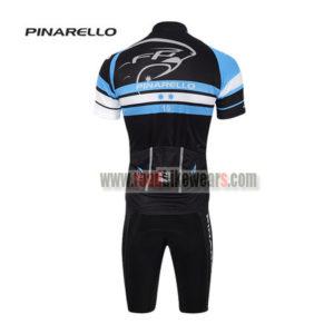 2017 Team PINARELLO Riding Kit Black Blue