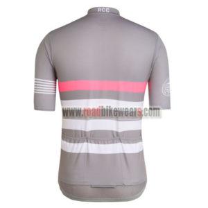 2017 Team Rapha Bicycle Jersey Grey Pink White