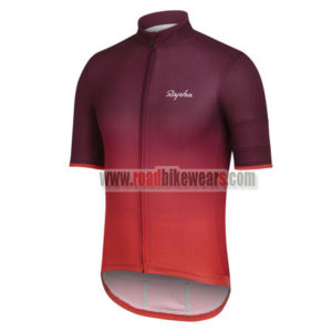 2017 Team Rapha Biking Jersey Red