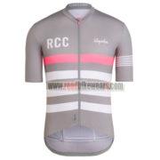 2017 Team Rapha Cycling Jersey Grey Pink White