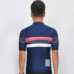 2017 Team Rapha Cycling Jersey Maillot Shirt Blue Pink White