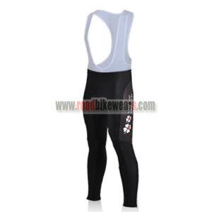 2010 Team FDJ Cycling Long Bib Pants Tights Black d1b1794b3