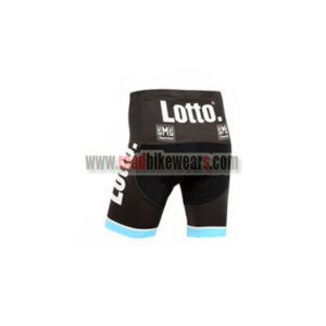 2015 Team LOTTO JUMBO Bike Shorts Bottoms Black Blue