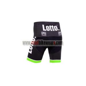 2015 Team LOTTO JUMBO Cycle Shorts Bottoms Black Green