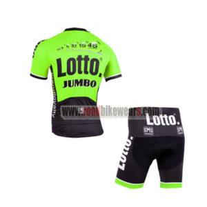 2015 Team LOTTO JUMBO Cycling Kit Green