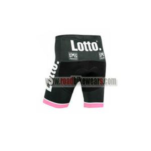 2015 Team LOTTO JUMBO Cycling Shorts Bottoms Black Pink
