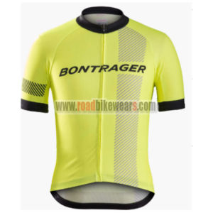 2017 Team BONTRAGER Cycling Jersey Maillot Shirt Yellow