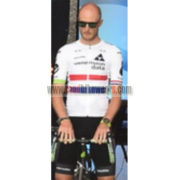 2017 Team Dimension data Cycling Set White Red Blue