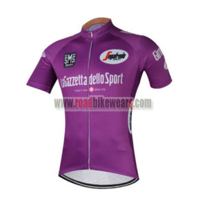 2017 Team LaGazzetta dello Sport Segafredo Cycling Jersey Maillot Shirt Purple