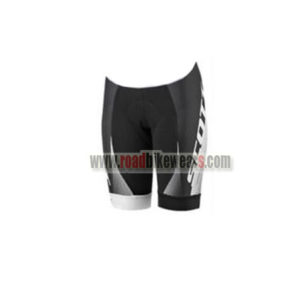 2017 Team SCOTT Womens Lady Bike Shorts Bottoms Black White