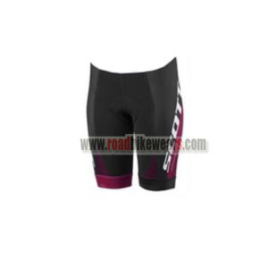 2017 Team SCOTT Womens Lady Biking Shorts Bottoms Black Purple