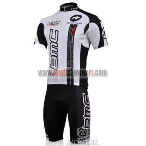 2010 Team BMC Bike Kit White Black