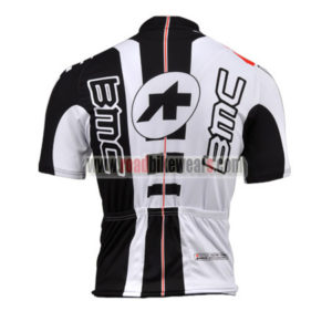 2010 Team BMC Biking Jersey Maillot Shirt White Black