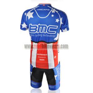 2010 Team BMC HINCAPIE Riding Kit Blue Red