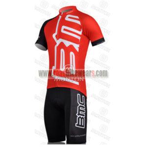 2011 Team BMC Biking Kit Red Black