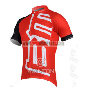 2011 Team BMC Cycle Jersey Maillot Shirt Red Black