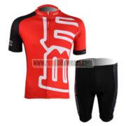 2011 Team BMC Cycle Kit Red Black