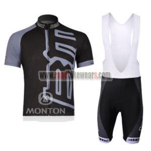 8870e98a7 2011 Team BMC Riding Wear Cycle Jersey and Padded Bib Shorts Roupas  Bicicleta Black Grey