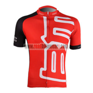2011 Team BMC Riding Jersey Maillot Shirt Red Black