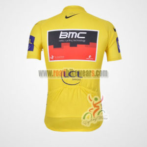2011 Team BMC Tour de France Riding Jersey Yellow