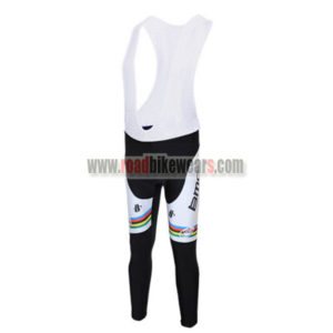 2011 Team BMC UCI Champion Cycle Wear Biking Padded Long Bib Pants Tights  Ciclismo Roupas Black White Rainbow 90b027ade
