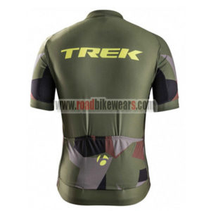 2017 Team TREK Biking Jersey Maillot Shirt Olive Green