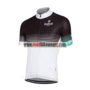 2016 Team BIANCHI Cycling Jersey Shirt Black White Blue
